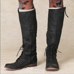 JEFFREY CAMPBELL X FREE PEOPLE Ridem Field Boots